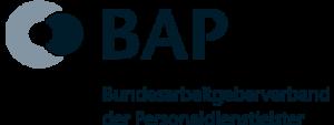 Abbildung zeigt das Logo Bundesarbeitgeberverband der Personaldienstleister